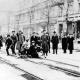 Stuttgartnacht - MG Stellung der Spartakisten in der Linienstrasse in Berlin