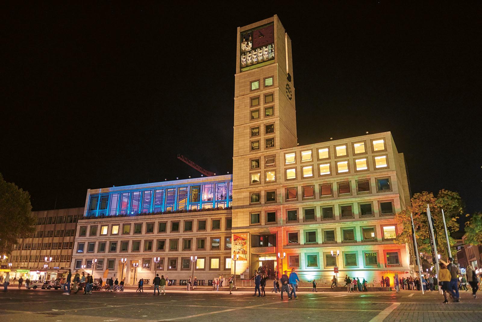 Stuttgartnacht - Rathaus_Stuttgart