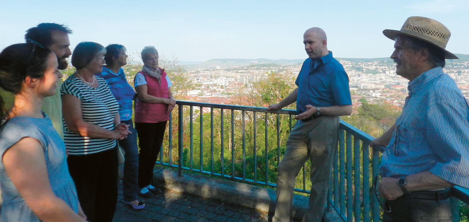 Stuttgartnacht - Spaziergang Muessiggang_Aussichtsplattform