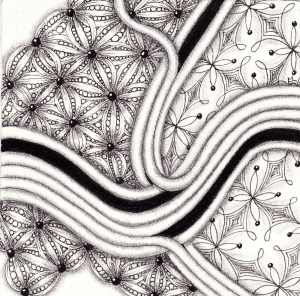 Stuttgartnacht - Cielo_Zentangle