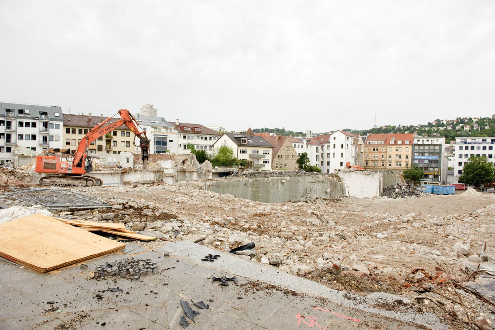 Stuttgartnacht - Bauwunder Spaziergang_Baustelle