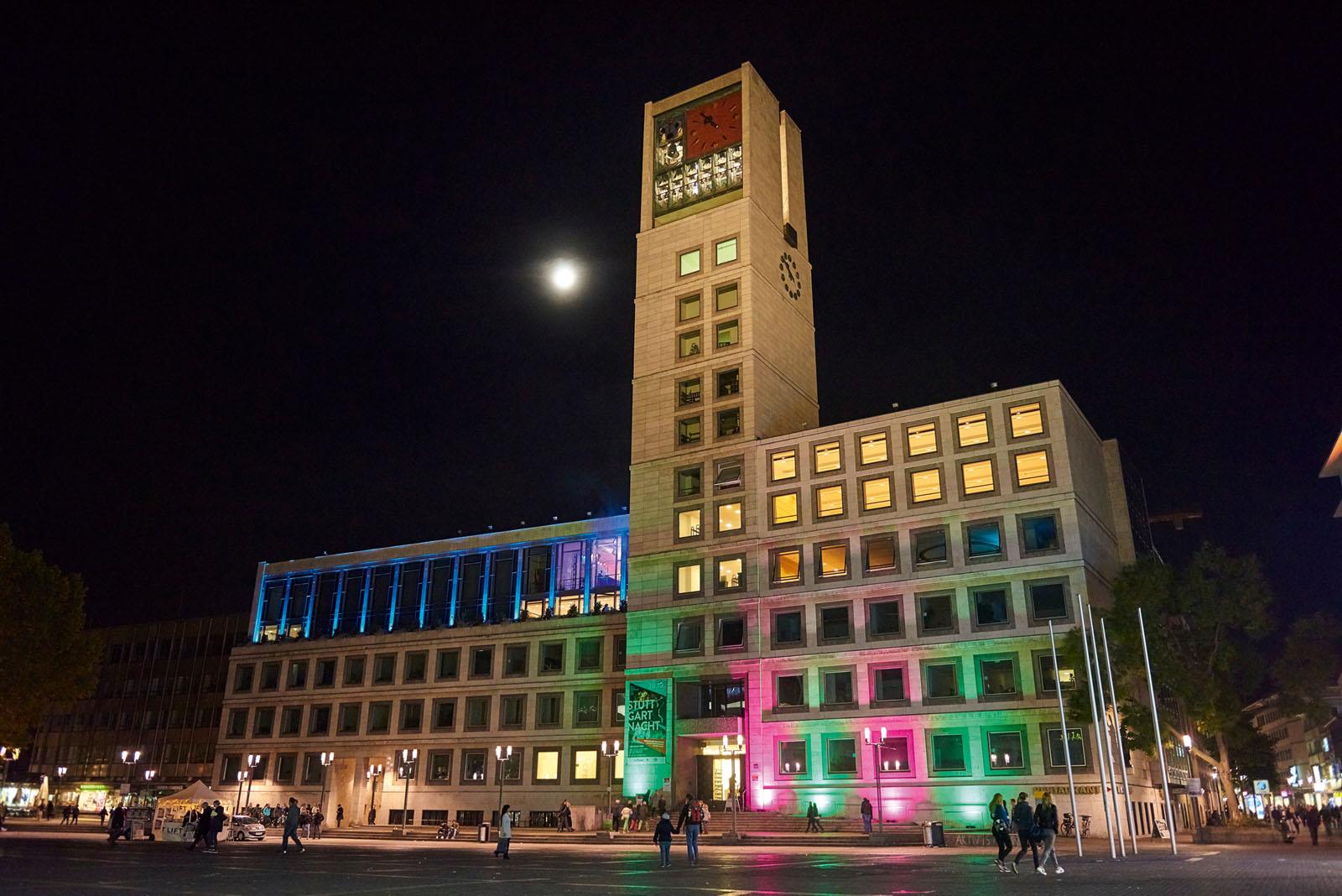 Stuttgartnacht - Rathaus