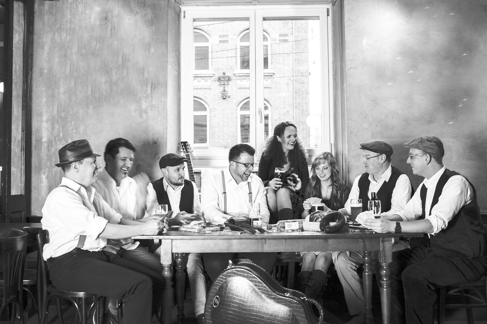 Stuttgartnacht - Gradraus Gruppenfoto