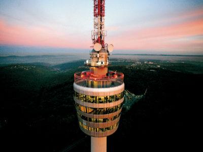 Stuttgartnacht - Fernsehturm außen