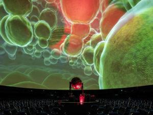 Stuttgartnacht - planetarium kosmische kollision