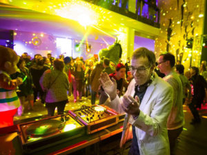 Stuttgartnacht - Rathaus My mayor is a DJ