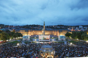 Stuttgartnacht - Landtag_ITFS Open_Air