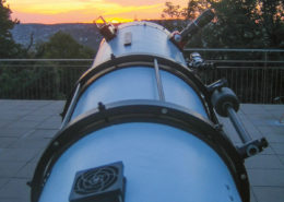 Stuttgartnacht - Sternwarte_Spiegelteleskop