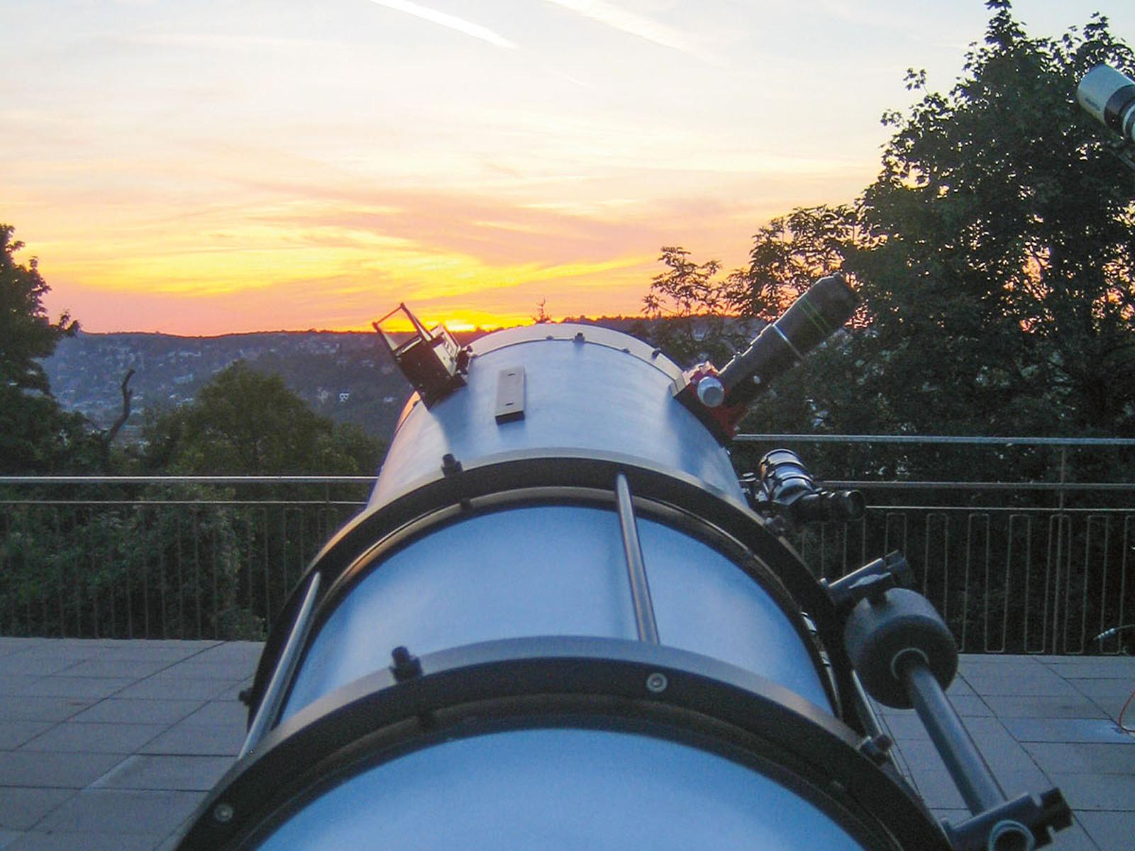 Stuttgartnacht - Sternwarte_Spiegelteleskop1