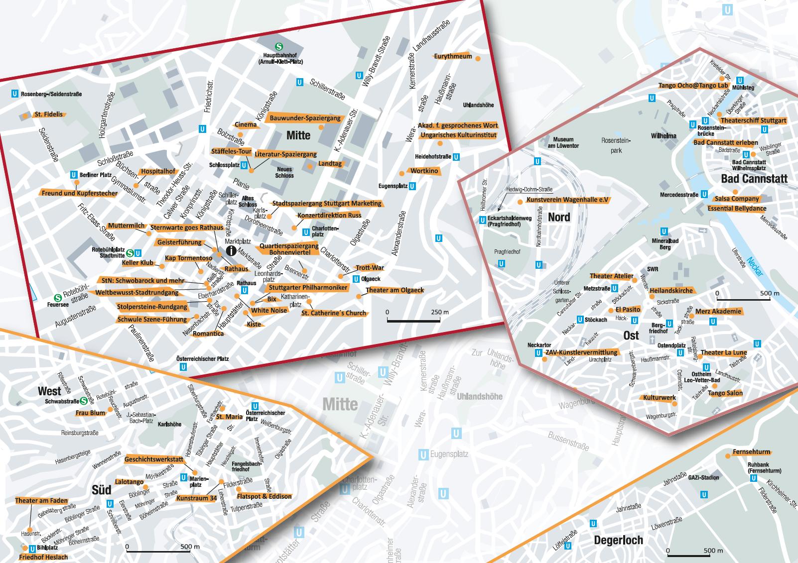 stuttgartnacht-Stadtplan - Stuttgartnacht 2018